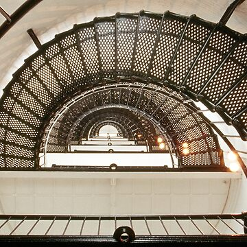 Stairway of the Sant Augustine Lighthouse by JonGrundy