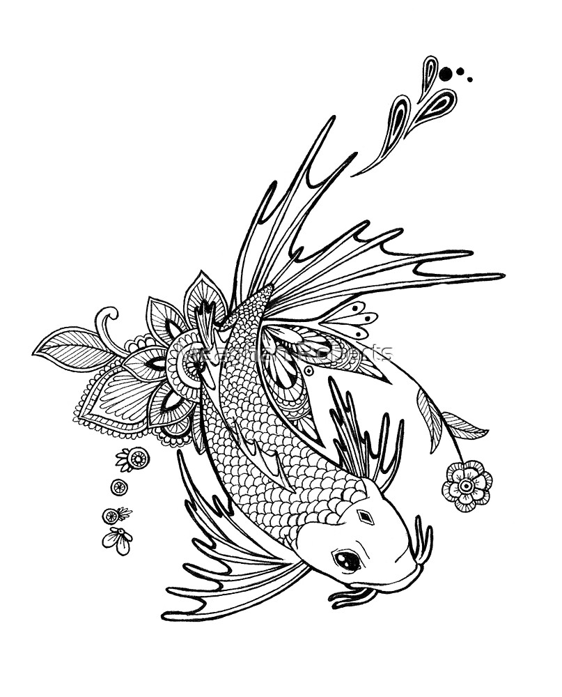 Koi Design by Meaghan Roberts