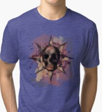 Skull Romantique Tri-blend T-Shirt