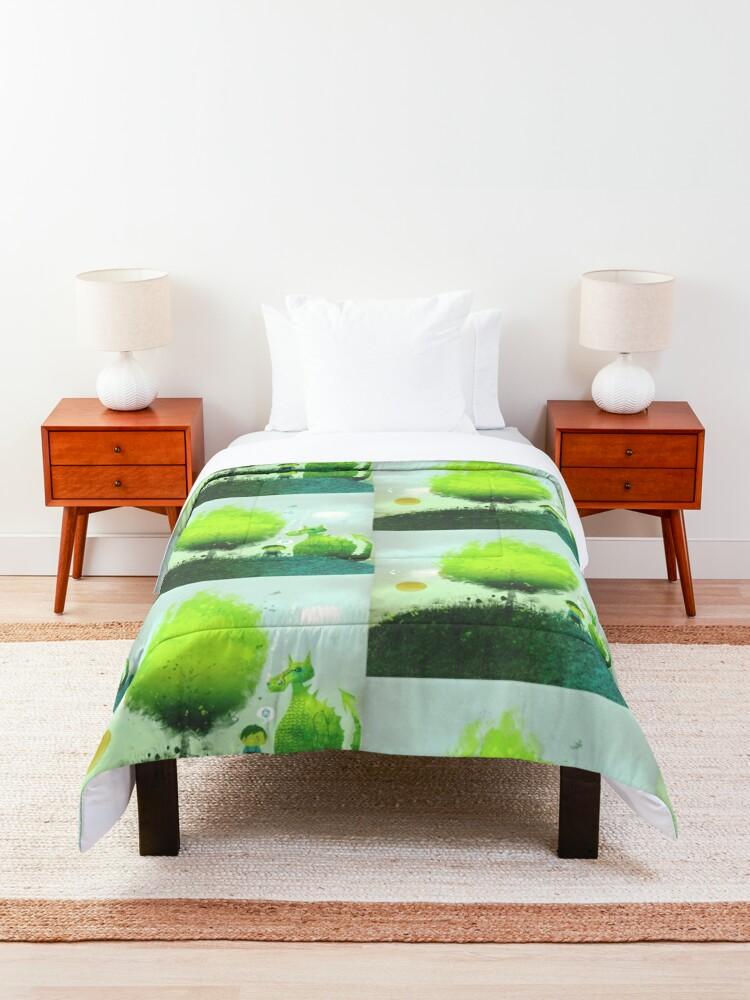 Alternate view of An Elf's Best Friend Comforter