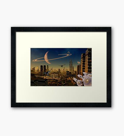 Titan - Dawns Early Light Framed Print