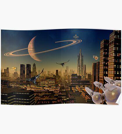 Titan - Dawns Early Light Poster