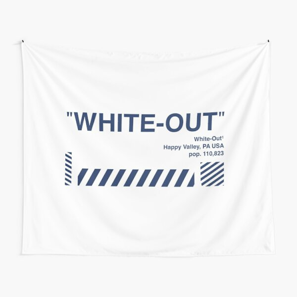 White-Out Tapestry