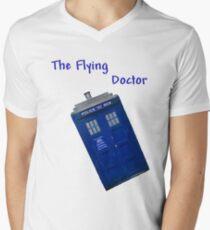 The Flying Doctor Mens V-Neck T-Shirt