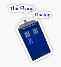 The Flying Doctor Sticker