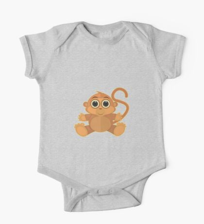 Monkey - Grey Kids Clothes