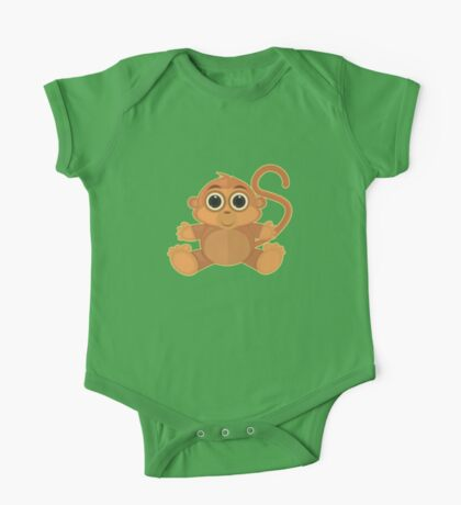 Monkey - Green Kids Clothes