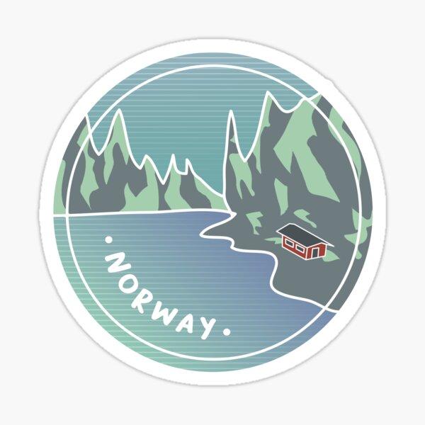 Norwegian Fjords Sticker