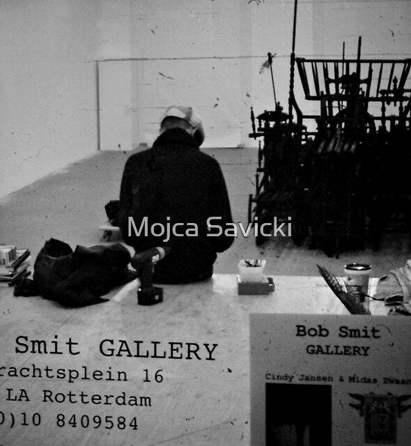 In The Gallery by Mojca Savicki