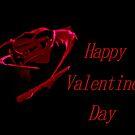 Dark Red Valentine by Sandra Moore