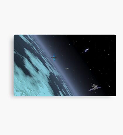 Andreus Station Canvas Print
