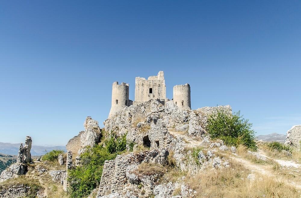 Italy - Castle of Rocca Calascio by Andrea Mazzocchetti