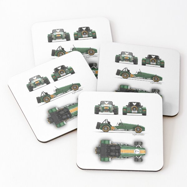 Caterham - Lotus Super Seven Coasters (Set of 4)