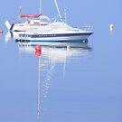 Boat reflections by LadyE