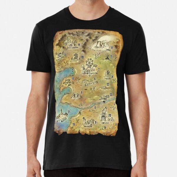 Libertyland map Premium T-Shirt