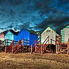 Beach huts by timmburgess