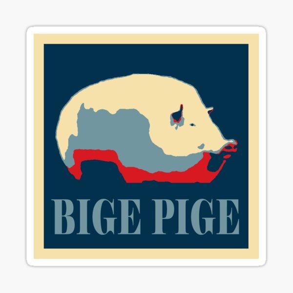 BIGE PIGE 2020 Sticker
