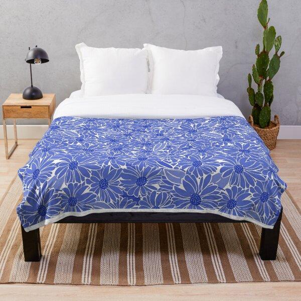 Periwinkle Blue Throw Blanket