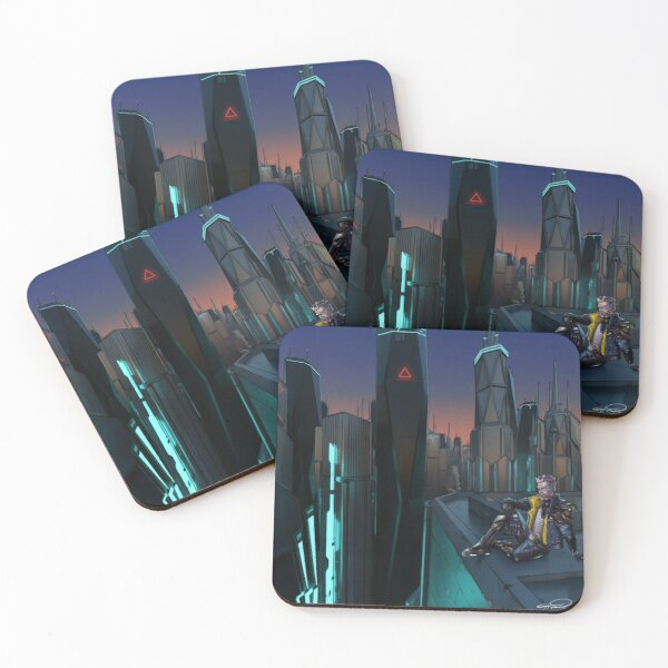 Zane's Glorious View Coasters (Set of 4)