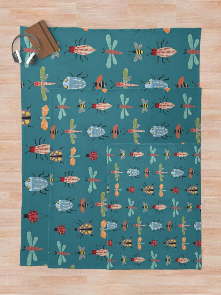 Alternate view of Little Bugs Throw Blanket