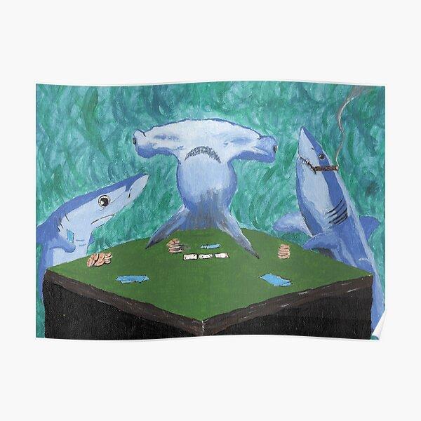 Card Sharks Poster