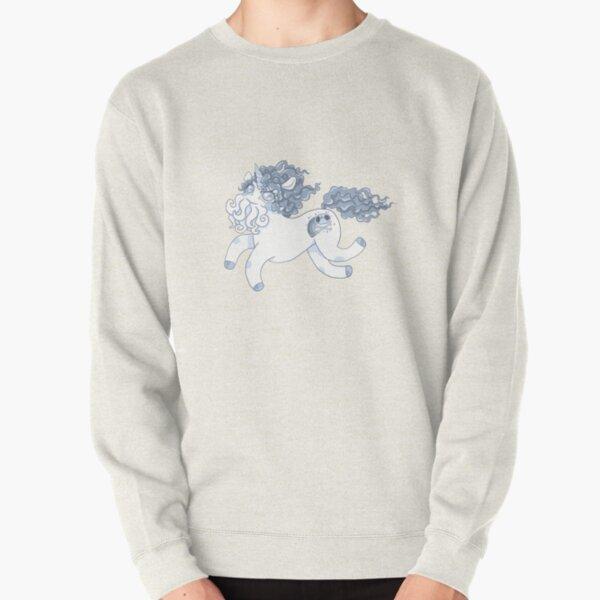 Blue Cthulhu-corn Pullover Sweatshirt
