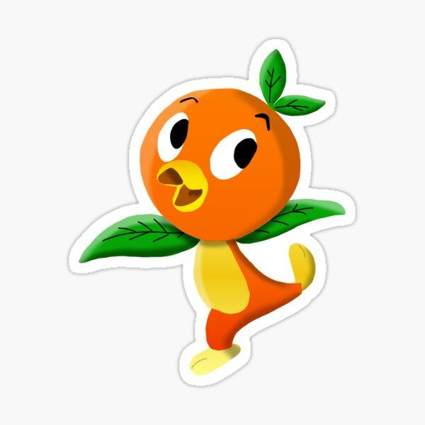 Orange Bird  Sticker