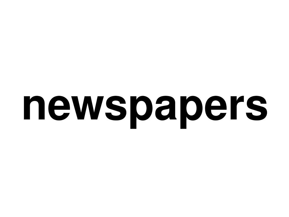 newspapers by ninov94