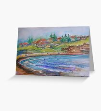 Mona Vale Beach- Mona Vale, Australia Greeting Card