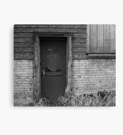 The Beer door 1 Canvas Print
