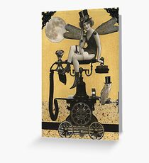 Telephone Fairy Greeting Card