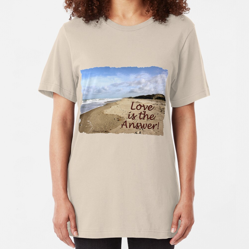 Someone to Love Is the Answer Slim Fit T-Shirt