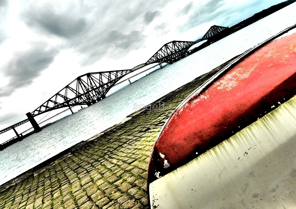 Forth Rail Bridge at an angle by ©The Creative  Minds