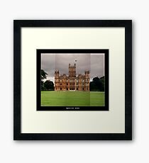 Highclere Castle - Newbury, Berkshire Framed Print