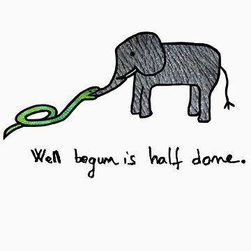 well begun is half done by Sviz