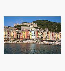 Portovenere - Waterfront Photographic Print