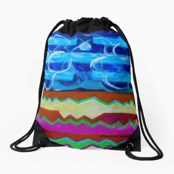 Hexagram 63: Jí Jì (Equilibrium) Drawstring Bag