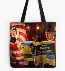 knife throwing for dummies Tote Bag