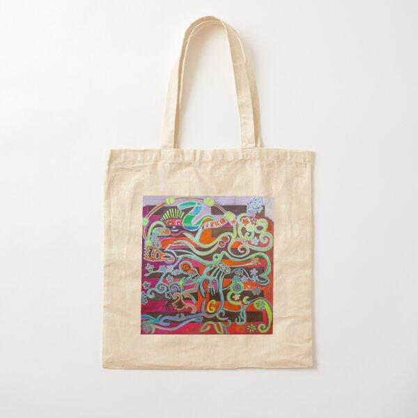 Hexagram 51: Zhen (Thunder) Cotton Tote Bag