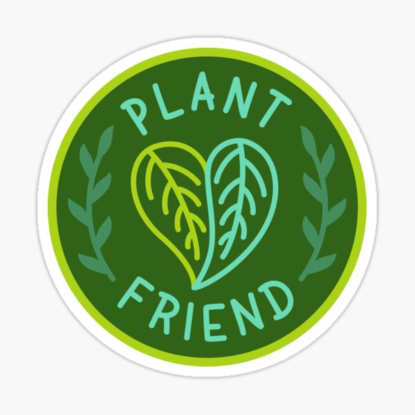 Plant Friend Sticker