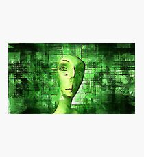 Alien Matrix Photographic Print