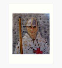 Agincourt Longbowman Art Print