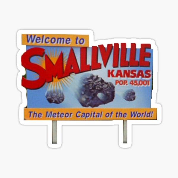 Signe de smallville Sticker