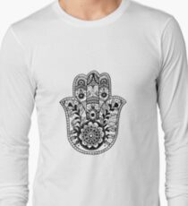 The Hamsa Hand Long Sleeve T-Shirt
