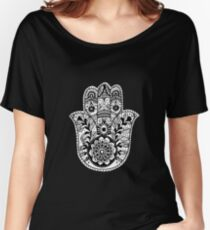 The Hamsa Hand Women's Relaxed Fit T-Shirt