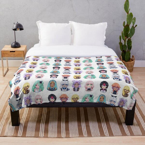OGIENOID - IRIS Lineup! Throw Blanket