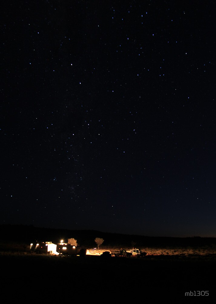 Southern Cross over Blue Valley by mb1305