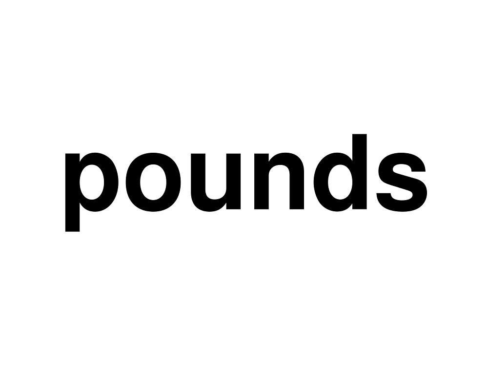 pounds by ninov94