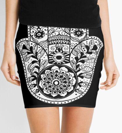 The Hamsa Hand Mini Skirt