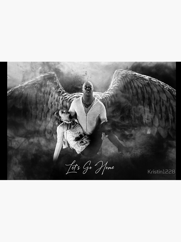 Amenadiel and Charlotte - Heaven Artwork by Kristin1228